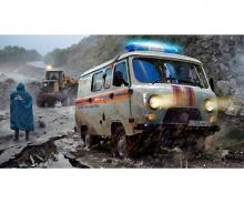 1:43 UAZ 3909 Emergency service