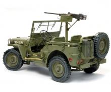 carson 1:6 1/4Ton4x4Truck w/M2.50-calMachineGun