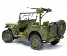 1:6 1/4Ton4x4Truck w/M2.50-calMachineGun