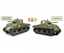 1:6 M4A3 105mm Howitzer Tank/M4A3(75)W