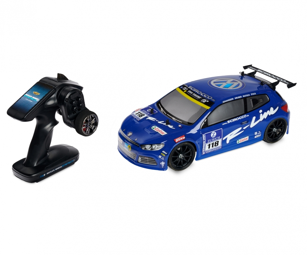Carson Vw Scirocco Cv 10 2 4 Ghz Rtr Nitro Powered Cars 1 10 Rc
