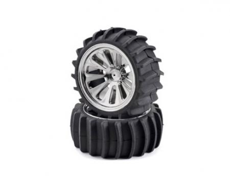 carson Beach tyre set, chrome (4) CV- 10B