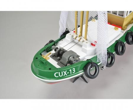 Fishing Boat -Cux-13 100%RTR 2.4 G