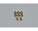 carson Motor Screws, CY-2 Chassis, 8 pcs.