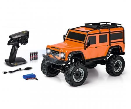 carson 1:8 Land Rover Defender 100% RTR orange