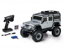 carson 1:8 Land Rover Defender 100% RTR silver