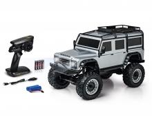 carson 1:8 Land Rover Defender 100% RTR silver