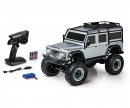 carson 1:8 Land Rover Defender 100% RTR silber