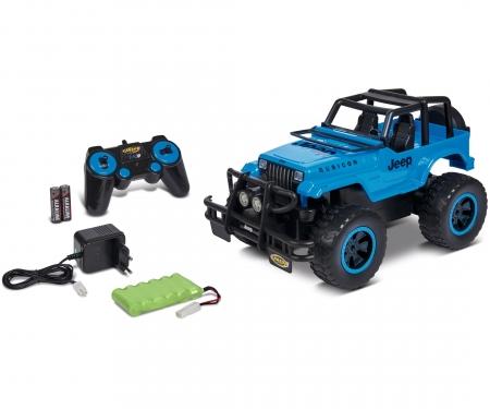 carson 1:12 Jeep Wrangler 2.4G 100% RTR blue