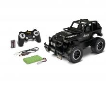 carson 1:12 Jeep Wrangl.2.4G 100%RTR matt schwarz