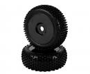 carson 1:8 Tyre Set Dish black 2pcs