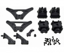 carson X10EB Shock Tower Gearbox + Parts