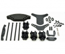 X10E Shock Tower Gear Box Set