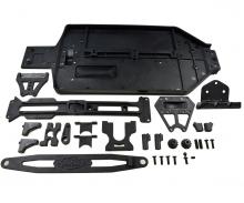 carson X10EB Dirtwarr.Sport .Chassis Plates Set