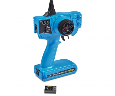 carson FS Reflex X1 2-channel 2.4G Blue Version