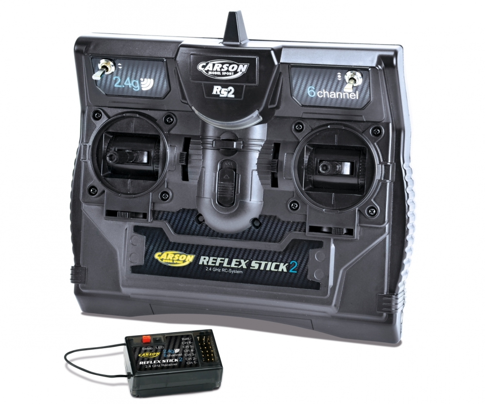 FS Reflex Stick II 2 4 GHz 6CH - Radio Controls