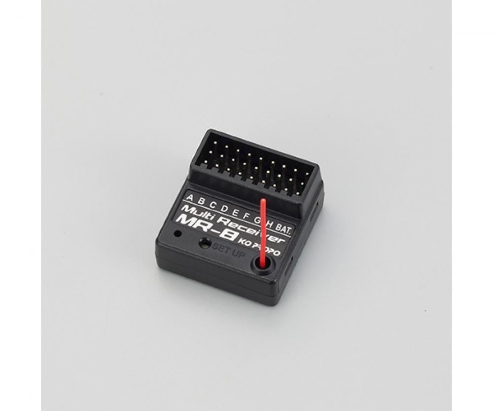 Carson 8K MR-8 MX-F RX 2,4GHz 500501545 RC Sender Modellbau mit Empf/änger Passend f/ür KO 8 Kanal MC-8 Zubeh/ör f/ür ferngesteuertes Auto