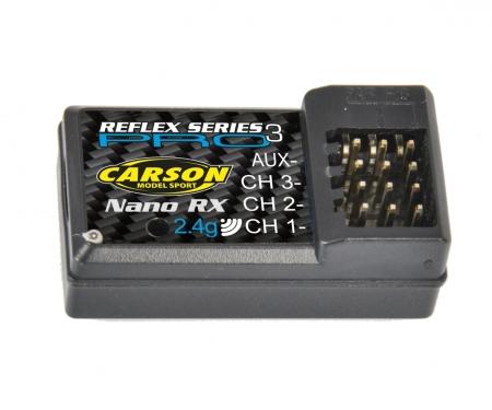 carson Receiver Reflex Pro 3 Nano 2.4G