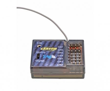 carson Receiver Reflex Wheel LCD 7 Channel