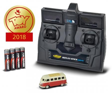 carson 1:87 VW T1 Samba Bus 2.4G 100% RTR