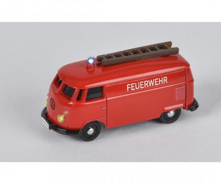 carson 1:87 VW T1 Van Fire Truck 2.4G 100%RTR
