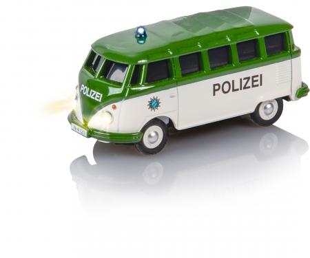 carson 1:87 VW T1 Samba Bus Polizei 2.4G RTR