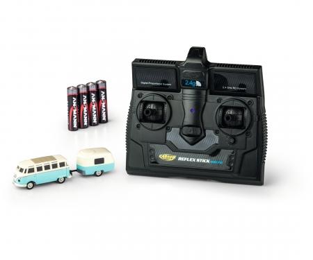 1:87 VW T1 Samba Bus w.Trailer 2.4G RTR