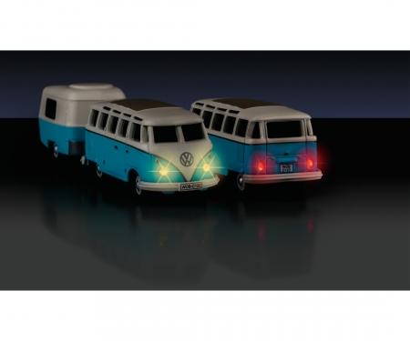 carson 1:87 VW T1 Samba Bus w.Trailer 2.4G RTR