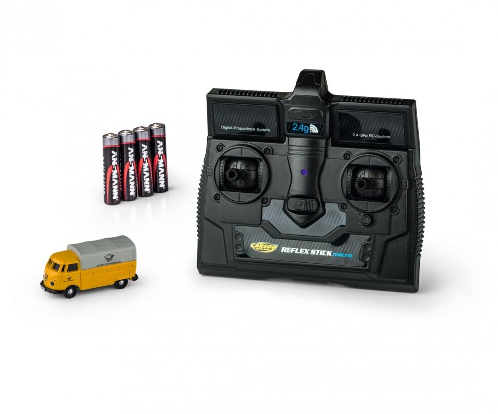 Carson 1:87 VW T1 Bus Deutsche Post 2.4G 100/% RTR 500504123