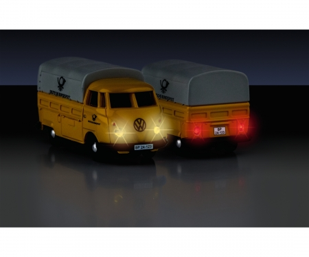 carson 1:87 VW T1 Bus Dt.Bund.post 2.4G 100%RTR