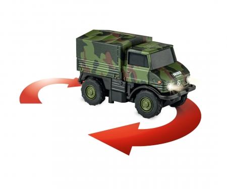 carson 1:87 MB Unimog U406 Bundeswehr 100% RTR