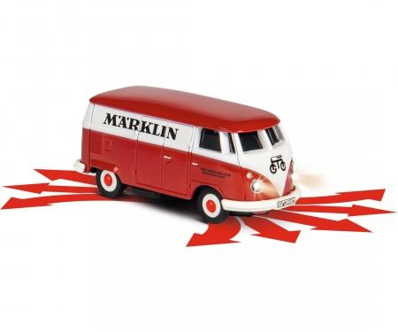 carson 1:87 H0 VW Bus T1 Märklin m.Niederbordw.