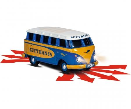 carson 1:87 VW T1 Samba Bus Lufthansa 2.4G RTR