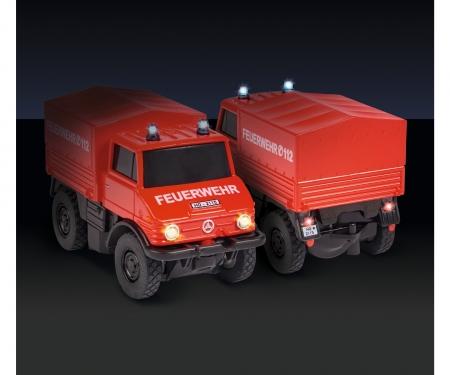carson 1:87 MB Unimog U406 Firefight. 2.4G 100%