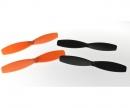 X4 Quadcopter SPY Propeller (4) orange