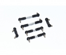 carson MF01X Alum. Tie rod set (6)