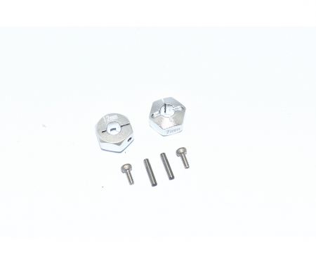 carson TT02B Alum. Hex Adapter 12x7mm (2)
