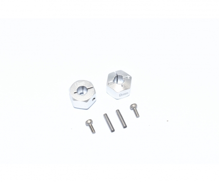 carson TT02B Alum. Hex Adapter 12x9mm (2)
