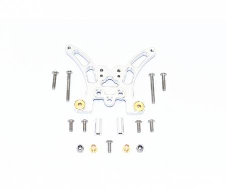 carson TT02B Alum. Rear Damper Plate (1)