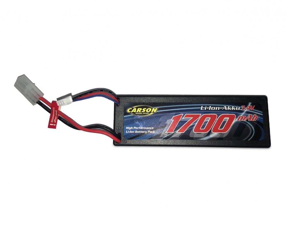 3000mAh T-Plug Carson 500608157 Li-Ion Akku 7,4V