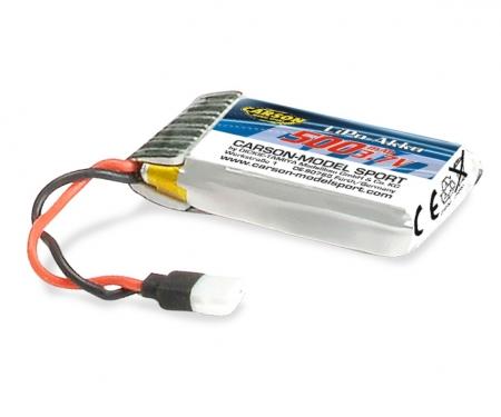 LiPo-accu X4 Quadcopt.360FPV 3,7V/500mAh
