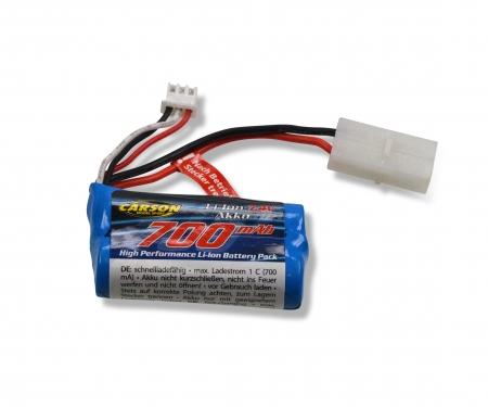 carson Battery 7,4V Li-Ion Battery 700MAH