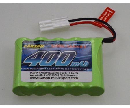 carson Optional Batt.NIMH 6V 400MAH MiniTam.Pl.