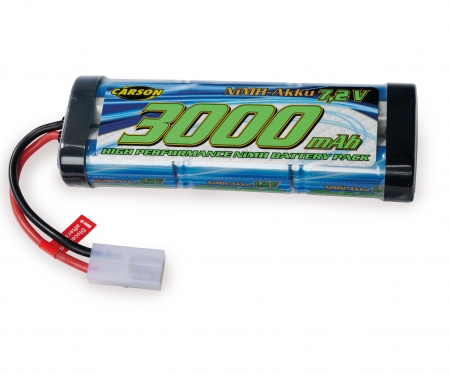 carson 7,2V/3000mAh NiMH Race Battery TAM