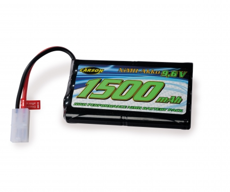 carson 9,6V/1500mAh NiMH Power Battery TAM