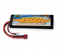 carson 7,4V/4500mAh 60C LiPO Battery T-Pl. HC R