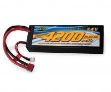 carson 7,4V/4200mAh 60C LiPO Battery T-Pl. HC