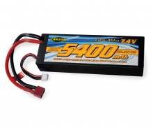 carson 7,4V/5400mAh 60C LiPO Battery T-Pl. HC