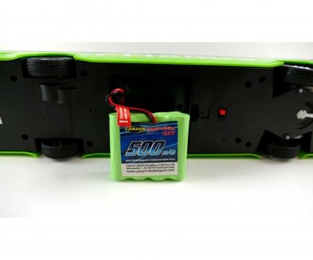 carson 4,8V 500mAh NiMH Race Battery JST