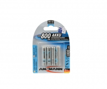 carson Rech.Bat. Set Micro/AAA 1,2V/800mAh (4)